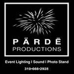 Pärdē Productions - Event Lighting | Sound | Photo Booths profile image.