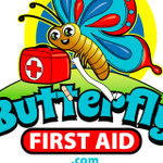 Butterfly First Aid for kids profile image.