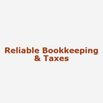 Reliable Bookkeeping & Taxes profile image.