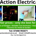 First Action Electrical profile image.