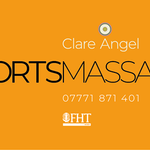 Clare Angel Sports Massage profile image.