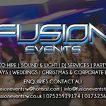 Fusion Events profile image.