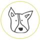 Genevieve's Pet Care, LLC Dog Walking and Pet Sitting logo