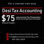 Desi Tax Service profile image.