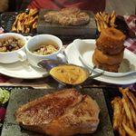 Double Barrel Steakhouse profile image.