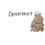 Gourmet Hippo profile image.