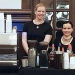 Latte Art Love Luxury Espresso Bar Catering profile image.