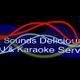 Sounds Delicious: DJ & Karaoke services logo