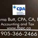 Fatima Butt, CPA, CA profile image.
