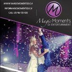 Magic Moments DJ Entertainment profile image.