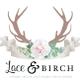 Lace & BIRCH logo
