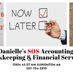 Danielle's SOS Bookkeeping Services profile image.