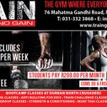 Train Gym profile image.