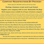 Company Registrations By Pravesh 071 3483407 profile image.