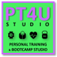 Pt4u Personal training & Bootcamp studio logo