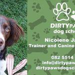 Dirty Paws dog school profile image.