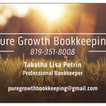 Pure Growth Bookkeeping profile image.