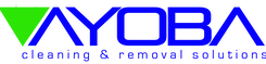 Ayoba clean and removals logo