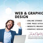 Wave Digital Design - Web & Graphic Design profile image.