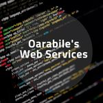 Oarabile's web services profile image.