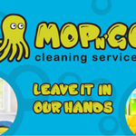 Mop N' Go Cleaning Services  profile image.