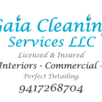 Gaia Cleaning Services LLC profile image.