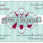 Home & Hearth Custom Cleaning Services profile image.