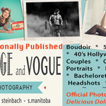 VINTAGE AND VOGUE PHOTOGRAPHY profile image.