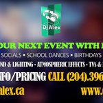 Alex's Mobile DJ Services profile image.