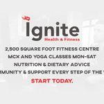 Ignite Health and Fitness profile image.