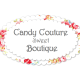 Candy Couture Sweet Boutique (Proud Stockists of  logo