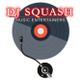 DJ SQUASH MUSIC ENTERTAINERS logo