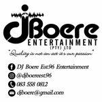 DJ Boere Est.96 Entertainment profile image.