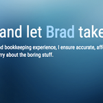 Brad's Bookkeeping Services profile image.
