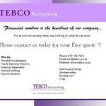 Tebco Accounting profile image.