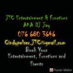 JTC Entertainment and Functions AKA DJ Jay profile image.
