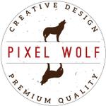 Pixel Wolf Design profile image.