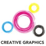 Creative Graphics: Design, Web & Social Media profile image.