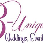 B-Unique Wedding & Events profile image.
