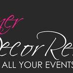 Designer Decor Rental profile image.