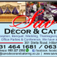 Savs Decor and Catering logo