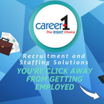 Career1 - Staffing and Recruitment Solutions profile image.