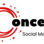 Concept Social Media profile image.