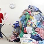 Piled High Ironing Services profile image.