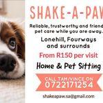 Shake-a-Paw Pet Sitting profile image.