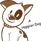 A Happier.dog logo