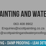 Scott Painting and Waterproofing profile image.