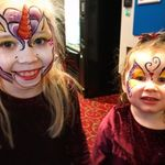 Funny faces face painting  profile image.
