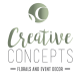 Creative Florals and Events Decor logo