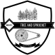 Tree & Sprocket Custom Designs logo